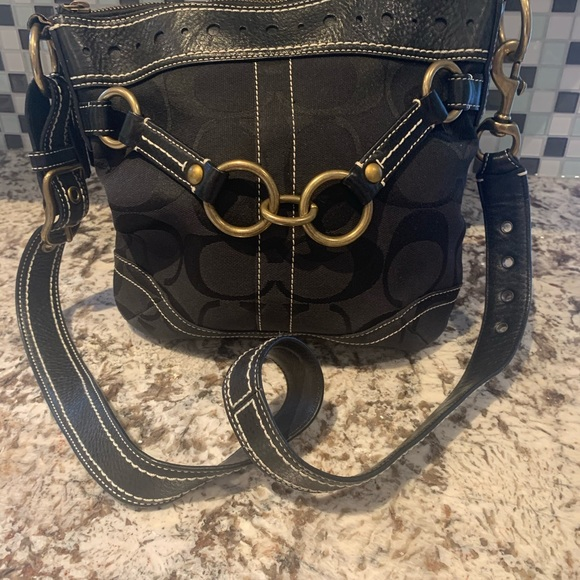 Vintage Coach Cross-body bag
